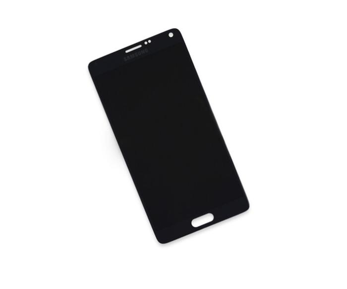 Màn hình nguyên khối Galaxy Note 4 chính hãng thương hiệu Samsung nên yên tâm về chất lượng