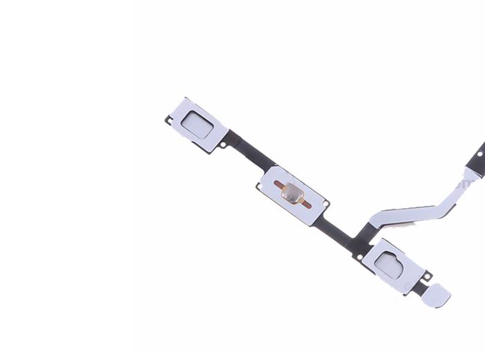 Phím bấm home và hai phím quang được thiết kế nằm trên một cụm