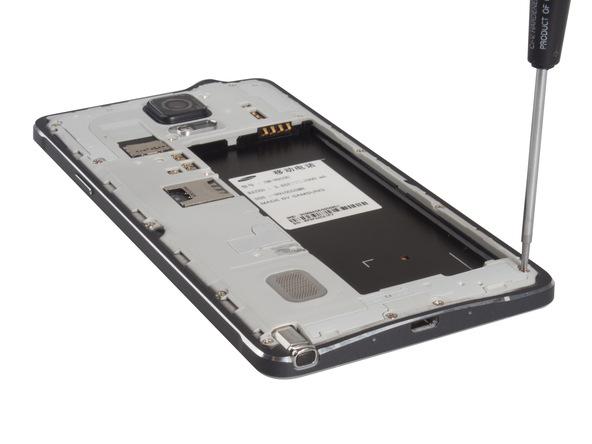 Hướng dẫn tháo điện thoại Galaxy Note 4